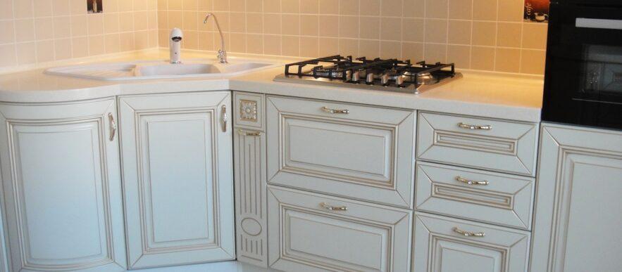 кухня на заказ в краске