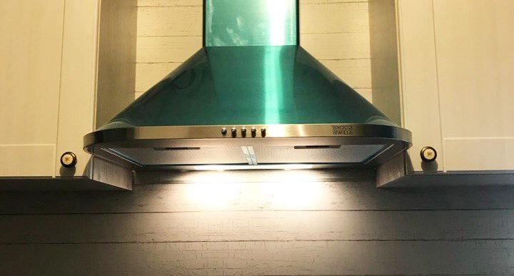 Прямая кухня на заказ с фасадами мдф с пленкой