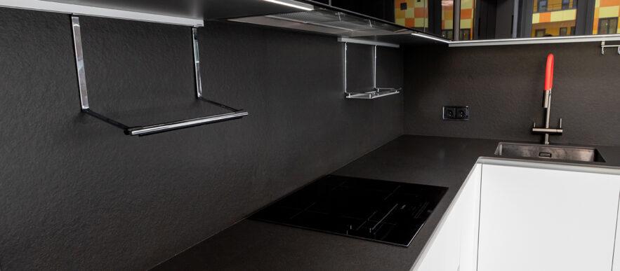 Кухня белая феникс