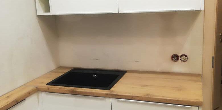 кухня белая мдф крашеный