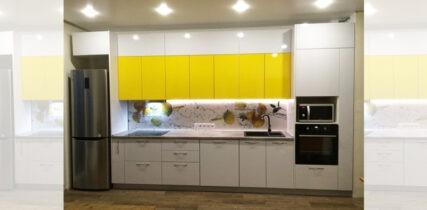 кухня на заказ с фасадами пластик Arpa