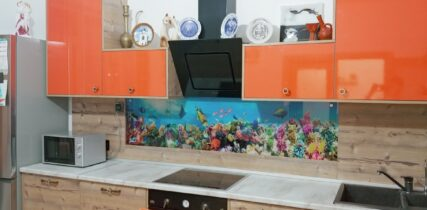 кухня на заказ с фасадами пластик Egger, Arpa