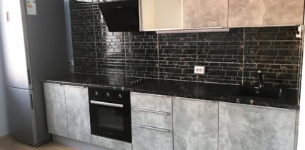Кухня лофт бетон Эггер