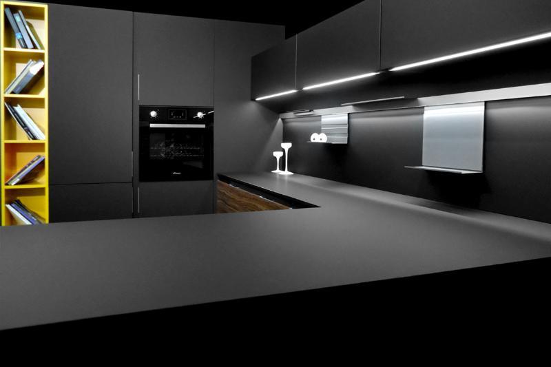 Умные фасады для кухни Феникс (Fenix) — Кухни Kitchen House